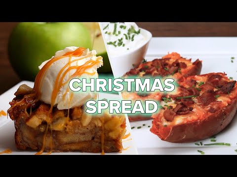 13 Easy Recipes For An Unforgettable Christmas Spread ? Tasty Recipes