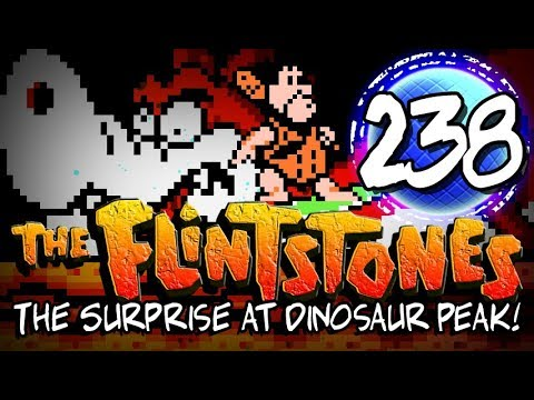 The Flintstones - The Surprise at Dinosaur Peak! - VideoReview Clásico
