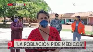 Beni: en San Ramón piden ayuda, aseguran que tienen varios casos y hay preocupación