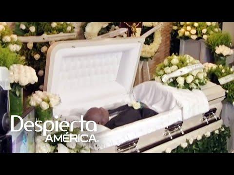 El funeral de Johnny Ventura y los tristes momentos que vivió la familia