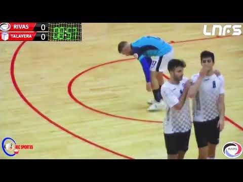 Rivas Futsal - FS Talavera Jornada 9 Grupo 2 Segunda División Temp 20 21