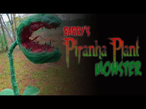 Barry's Piranha Plant Monster