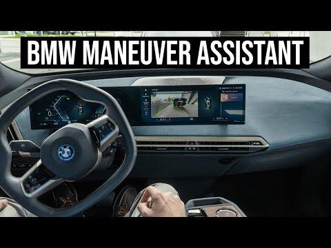 BMW iX  Maneuver Assistant - How Does It Work