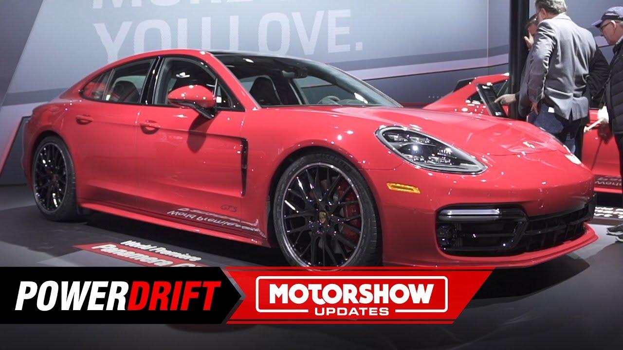 2019 പോർഷെ പനേമറ ലിവന്റെ ജിറ്റ്എസ് : എ bit more of everything : 2018 la auto show : powerdrift