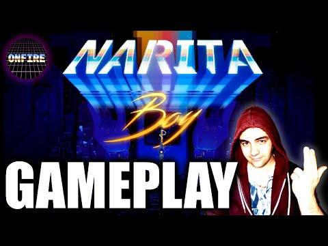 Narita Boy - Gameplay Comentado en Español