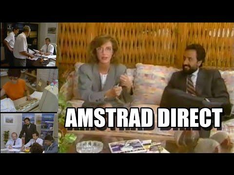AMSTRAD DIRECTO 1988 VOL 1 CINTA VHS JOSE LUIS DOMINGUEZ INDESCOMP