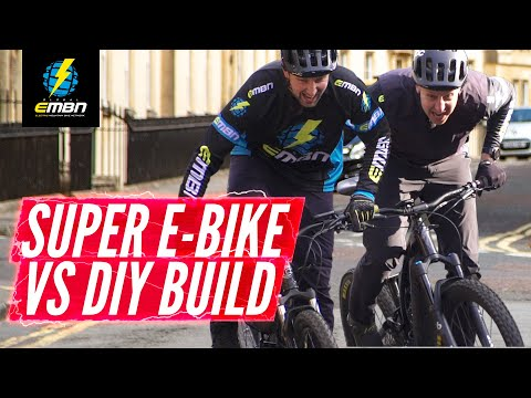 High End EMTB Vs Mid Drive Home Build E Bike | EMBN Head To Head