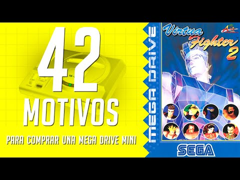 Virtua Fighter 2. 42 motivos para comprar una Mega Drive Mini. (31/42)