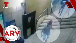 Sicarios asesinan a balazos a un empresario dentro de restaurante en Perú   Al Rojo Vivo   Telemundo