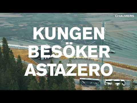 Kungen besöker AstaZero – 30 sek