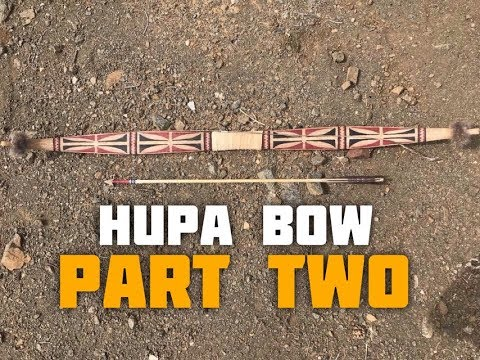 Hupa/Yurok Style Bow (Part 2 of 6)
