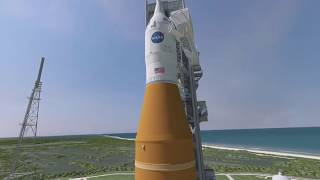 Media View Barge Pegasus and SLS Hardware on This Week @NASA – May 19, 2017