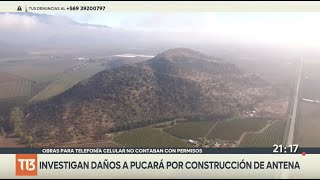 Paralizan obras de antena celular colindante con ruinas de Pucará Inca