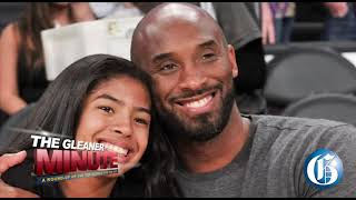 THE GLEANER MINUTE: Western Union robbery... Gas station fire... Kobe's wife sues