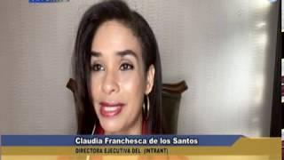 Entrevista Claudia Franchesca de los Santos Directora del (INTRANT), nuevas medidas en el transporte