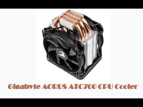 Gigabyte Aorus ATC700 CPU Cooler 2x120mm  распаковка - Обзор photo