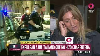 Expulsan del país a turista italiano por no cumplir la cuarentena