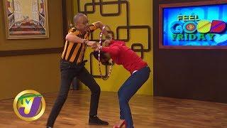 TVJ Smile Jamaica: Hula Hoop Challenge - February 14 2020