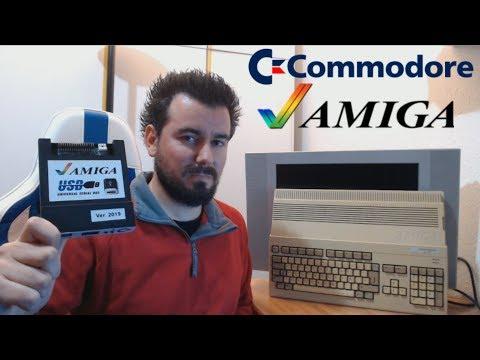 COMMODORE AMIGA Unidad Gotek USB --- El invento del capitán Sparrow para cargar juegos