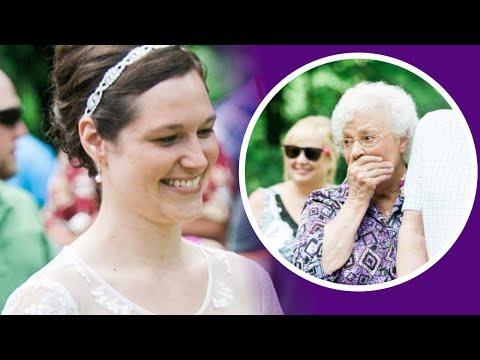 Baka je ugledala vjenčanicu svoje unuke i ostala bez riječi. A KAKO I NE BI?