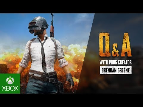 Xbox Community Q&A with PUBG Creator Brendan Greene