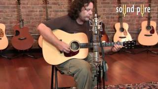 Collings Guitars Demo Video - Collings D1A Dreadnought Acoustic Guitar