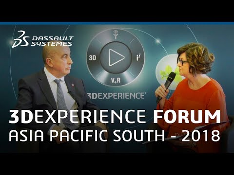 3DEXPERIENCE Forum Asia Pacific South 2018 - Interview with Philippe Forestier - Dassault Systèmes