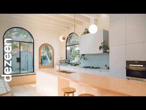 Ten colourful kitchens | One-minute videos | Dezeen