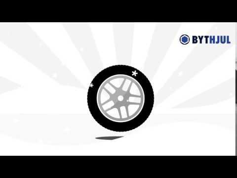 Köpa vinterdäck? Fri frakt hos Bythjul.com