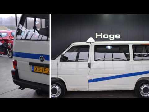 Volkswagen Transporter Kombi 1.9 TD 292 9-Persoons 183dkm APK 20-12-2017 Inruil mogelijk