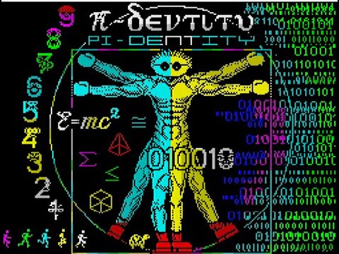 RETROJuegos Homebrew - Pi-Dentity © 2020 Sebastian Braunert ZX Spectrum 48K
