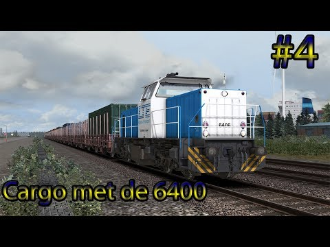 Met de LTE 6400 over Fictiva - Train Simulator 2017 (Livestream #4)