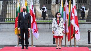 Prezidentas susitinka su Sakartvelo Prezidente Salome Zurabišvili