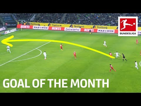 Crazy Long Range Goal! | Florian Neuhaus - January 2020's Goal of the Month Winner