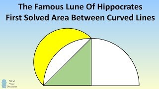 Lune Of Hippocrates - Famous Ancient Math Problem