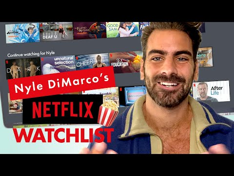 Actor Nyle DiMarco's Go-To Netflix and Chill Show Is Real HOT | Through My Queue | Cosmopolitan