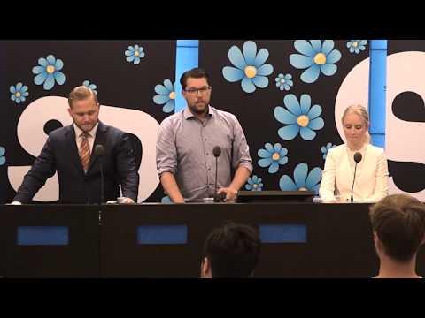 Sverigedemokraterna presenterar nya talespersoner