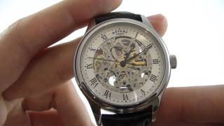 01df436eaf11 Men s Rotary Vintage Automatic GS02518 06 Watch Review - Watch Shop UK -  YouTube