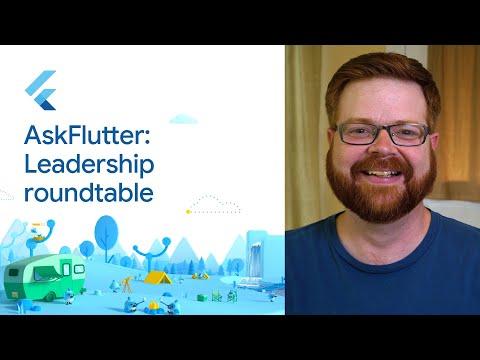 #AskFlutter leadership roundtable