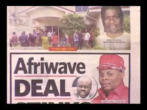 Newspaper headlines - Badwam on Adom TV (10-2-16)
