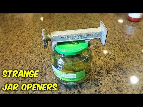 12 Strange Jar Opener Gadgets You Didn't Know Exist