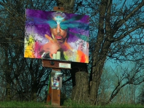 Prince Fans Flock To Paisley Park For Tribute
