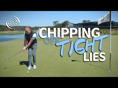 How To CHIP Off TIGHT LIES | Me and My Golf