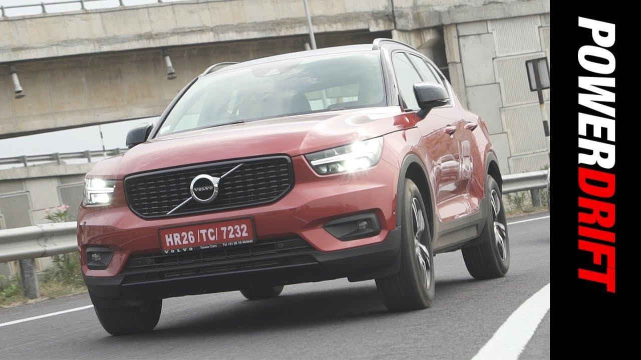 Volvo XC40 : Rs 40 lakh Semi-autonomous Swedish compact SUV : PowerDrift