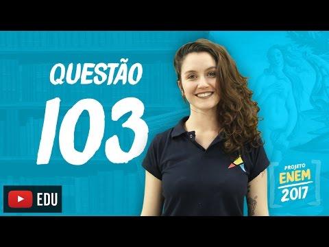 Enem 2016: Questão103(CadernoRosa)