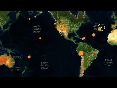 Strong M7.1 Earthquake Strikes Peru, Quake Swarms In Colorado and Alaska
