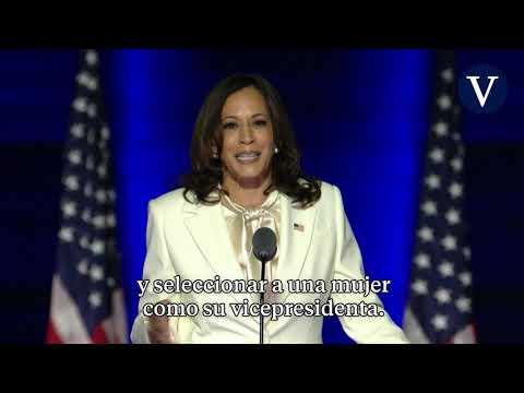 Kamala Harris aboga por no ser la última mujer en la vicepresidencia de Estados Unidos