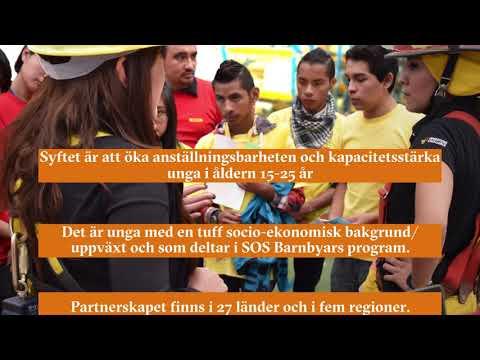 Att stödja barn är att skapa utveckling - SOS DHL Global Goals