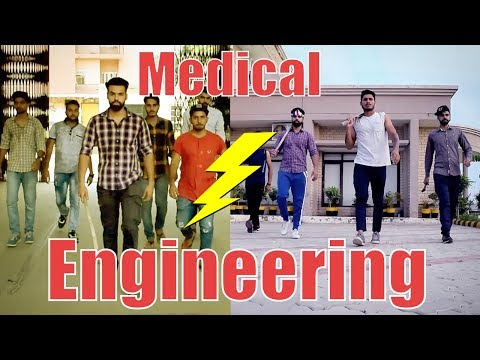 connectYoutube - Medical vs Engineering life | Funny | | HRzero8 |