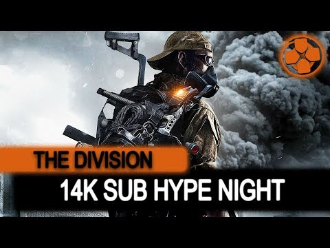 The Division 🔴 Grinding for Classifieds | 14K Sub Hype Night | Giveaway Tonight | PC Gameplay 1080p